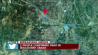 2 dead in rollover crash in Campo