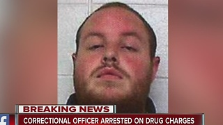 Josh Kirk: Plainfield correctional officer arrested on drug charges - Video