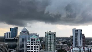 Wild, Stormy Weather Sweeps Across Fort Lauderdale - Video