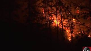 GATLINBURG FIRES | Parts Of Gatlinburg 'Destroyed,' Hundreds Of Structures Affected - Video