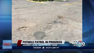 Pothole Patrol 22nd St Overpass - Video