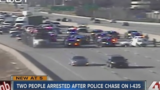 2 in custody after JoCo police chase