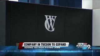 Company expansion could lead to economy boom - Video