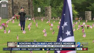 Fallen MD service members honored in Memorial Day ceremony