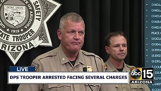 DPS trooper arrested facing sex assault, kidnapping charges
