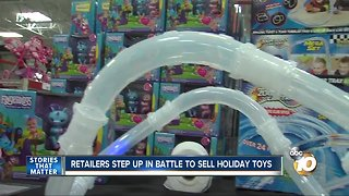 Battle to Sell Toys
