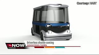 Driverless shuttle coming to Tampa - Video