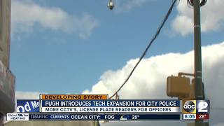 Pugh announces expansions in crime detecting technologies - Video