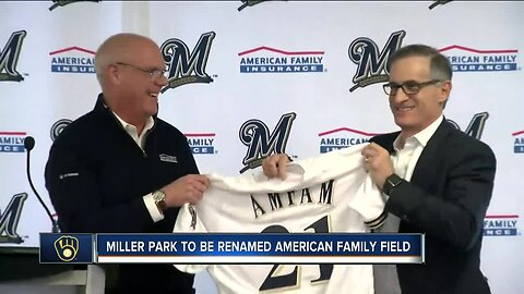 Miller Park, home of the Milwaukee Brewers, to be renamed 'American Family Field'