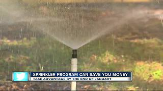 Free sprinkler program can reduce your water bill