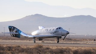 Virgin Galactic Successfully Tests Commercial Spacecraft