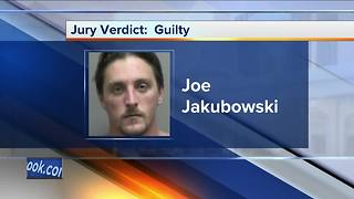 Jakubowksi found guilty on weapons charges - Video