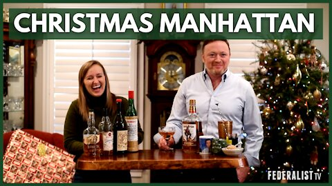 How To Make A Velvety Christmas Manhattan