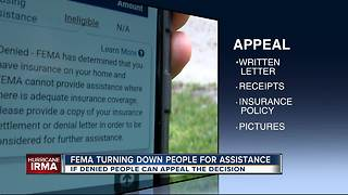 FEMA denying help to many hurricane victims with major damage - Video