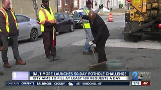 Baltimore launches 50-day pothole challenge