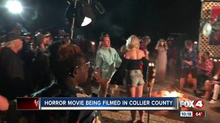 Horror flick wraps up production in Collier County - Video
