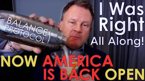 I was right all along and now America is back Open!