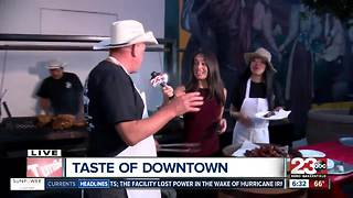 Jerry's Pizza and Pub with ribs for Taste of Downtown - Video