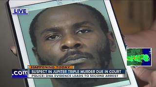 Jupiter triple murder suspect to appear in court - Video