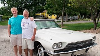 Son Reunites Dad with Beloved 1966 Thunderbird - Video