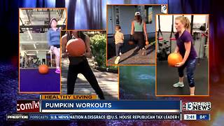 Working out with pumpkins is now trending - Video