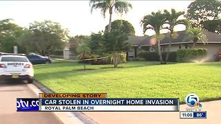 Car stolen during Royal Palm Beach home invasion - Video