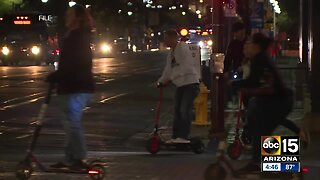 "PHX E-scooter pilot program has ""growing pains"" during first week"