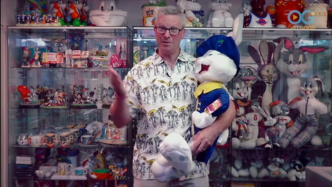Looney Toons Collector Has The Most Bugs Bunny's We've Ever Seen