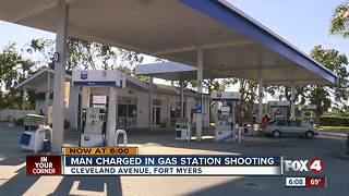 Police make arrest in gas station shooting - Video