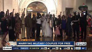 Las Vegas Marry the Military - Video