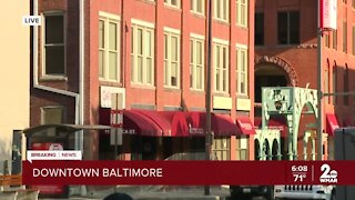 Gas leak causes building evacuations, street closures in downtown Baltimore