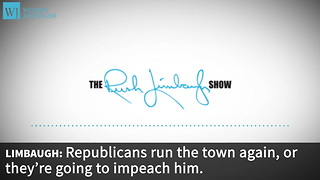 Limbaugh: House Hearing Sends Trump A Message To Stop Draining The Swamp - Video