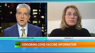 Russia Today: Censoring COVID vaccine information