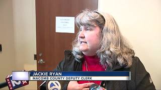 Macomb County Deputy Clerk placed on administrative leave after Spranger removed - Video
