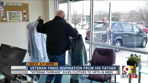 Homefront - Veteran gives clothes to vets in need