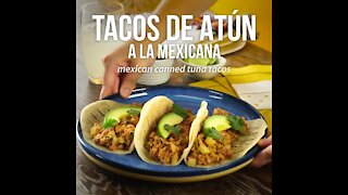 Mexican Canned Tuna Tacos