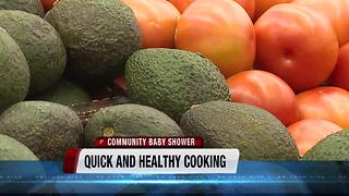 Community Baby Shower: Quick and healthy meal planning - Video