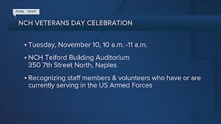NCH to honor veterans