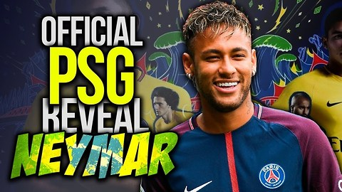 PSG Sign Neymar For World Record €220M Fee!