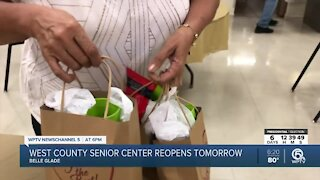 West County Senior Center reopening in Belle Glade