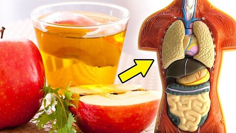 10 Reasons You Need to Drink Apple Cider Vinegar Every Night Before Bed