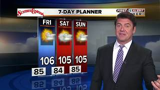 13 First Alert Weather for Aug. 7 - Video