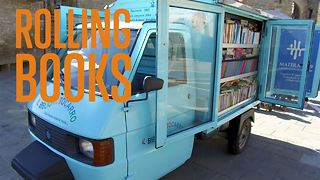 The bookmobile: Sharing books, saving culture - Video