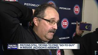 Pistons still trying to find 'go-to guy' in Jackson's absence - Video