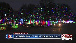 Rhema increases security after fight