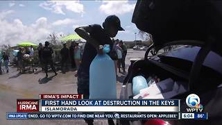 U.S. Military assists in Keys cleanup - Video