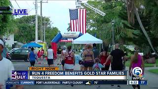 Tequesta race benefits Gold Star families in Florida - Video