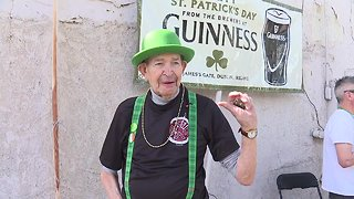 Boise Firefighters Pipes & Drums names honorary member on Saint Patrick's Day