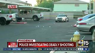 Man killed in shooting at Phoenix apartment complex