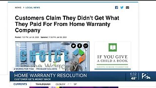 Tulsa woman receives full refund from Choice Home Warranty